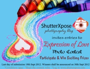 ShutterXpose Expression of Love Photo Contest